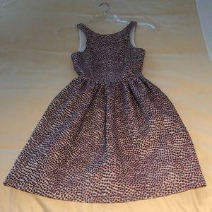 Jacquard multi color dress
